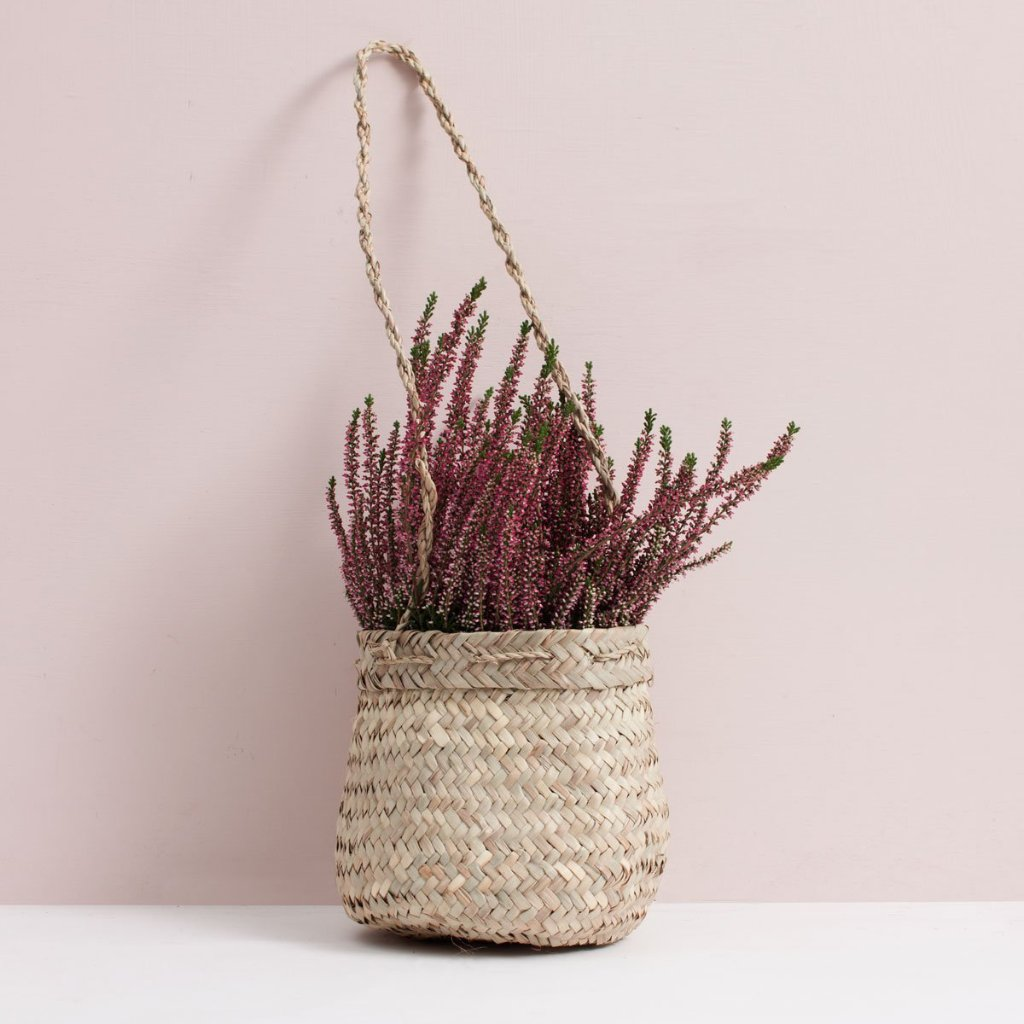 Hanging Beldi Basket Planter