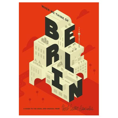** Travel Guide Map - When we think of Berlin