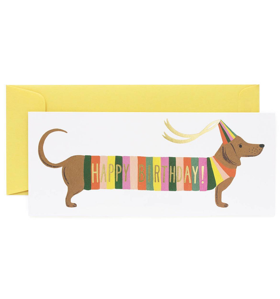 Hot Dog Birthday Card by Rifle Paper Co.