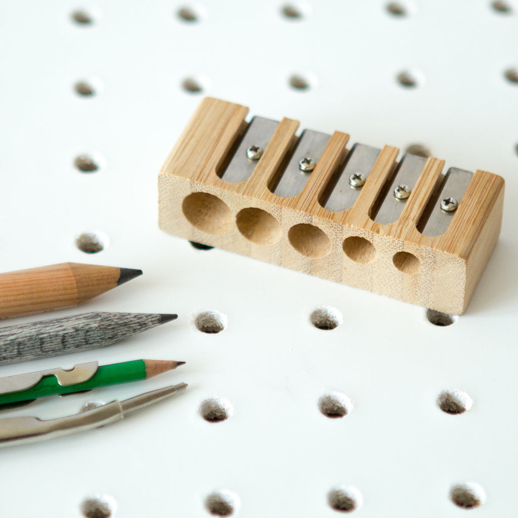 ** 5 Hole Pencil Sharpener