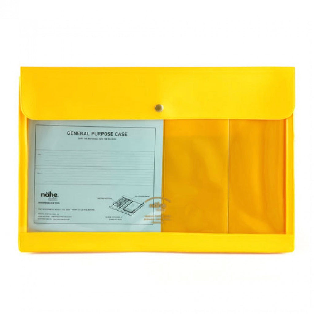 Hightide A4 General Purpose Case - Yellow