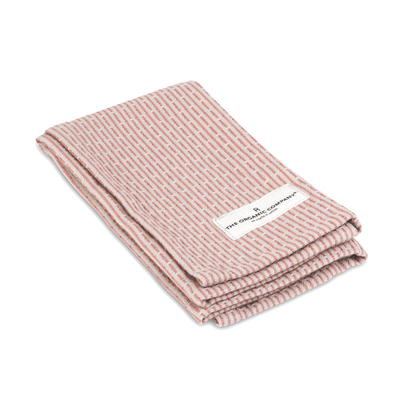 Organic Kitchen & Wash Cloth - Rose