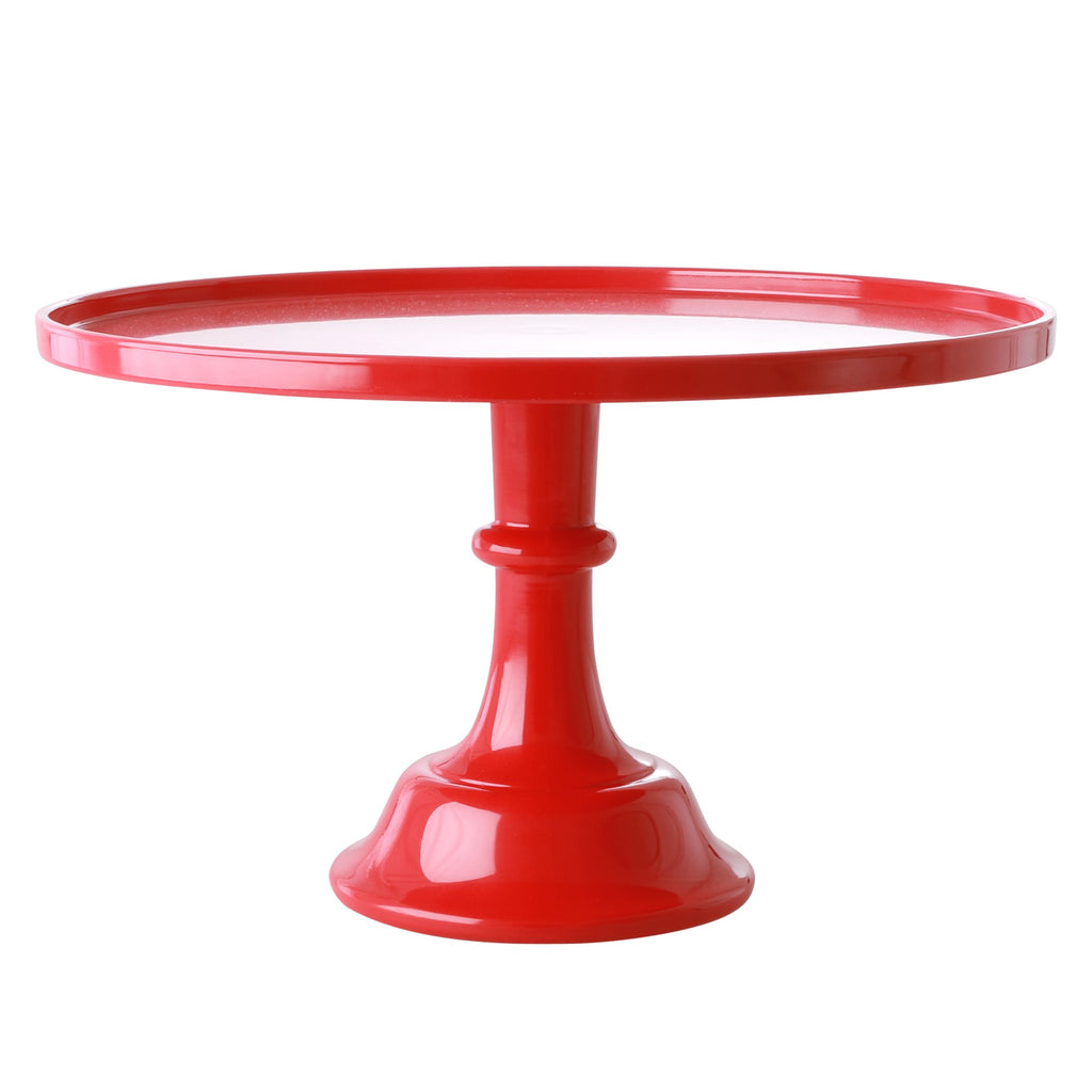 Red Melamine Cake Stand