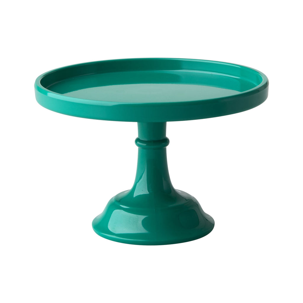 Extra Small Green Melamine Cake Stand