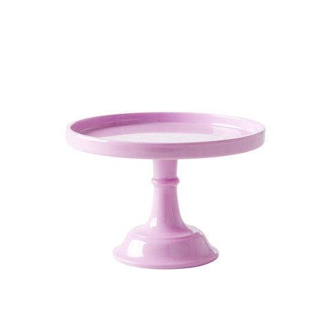 Extra Small Pink Melamine Cake Stand