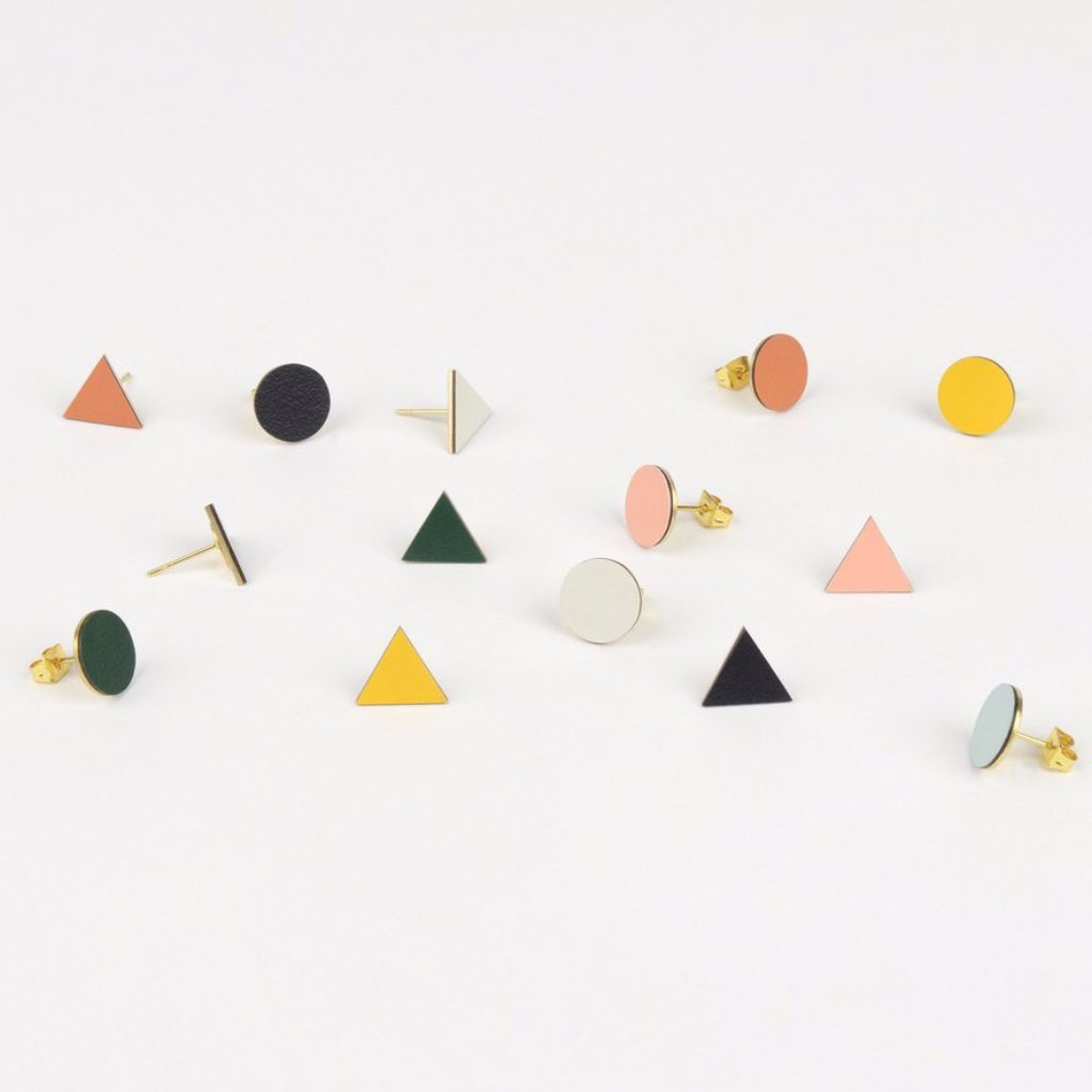 Mix Match Studs with Brass & Formica