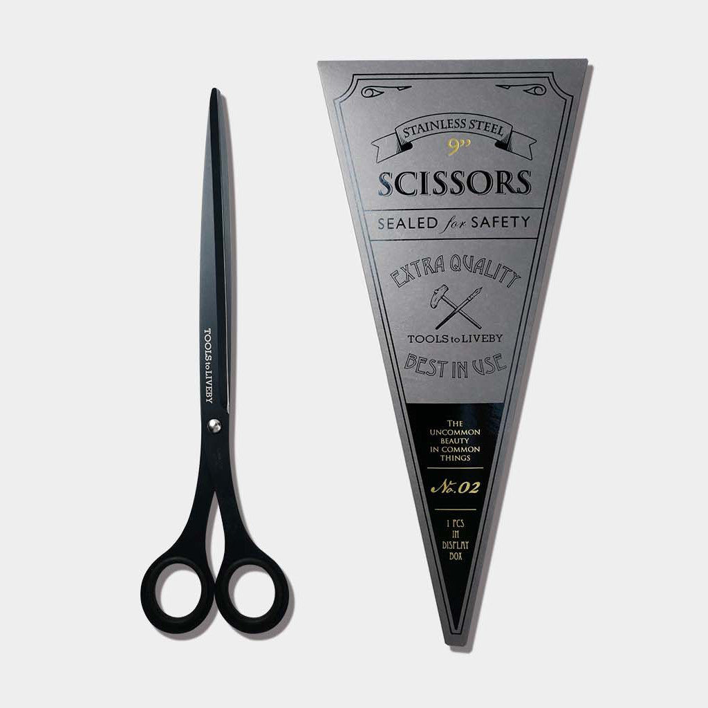 "Tools to Liveby Scissors 9"" - Black"