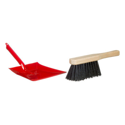 Child Size Dust Pan and Brush