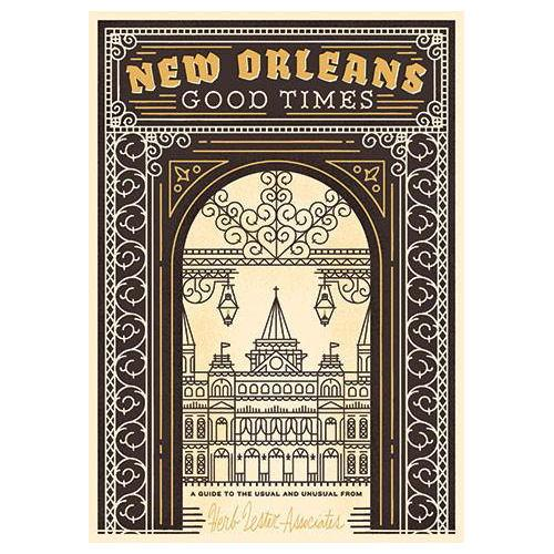 ** Travel Guide Map - New Orleans:Good Times