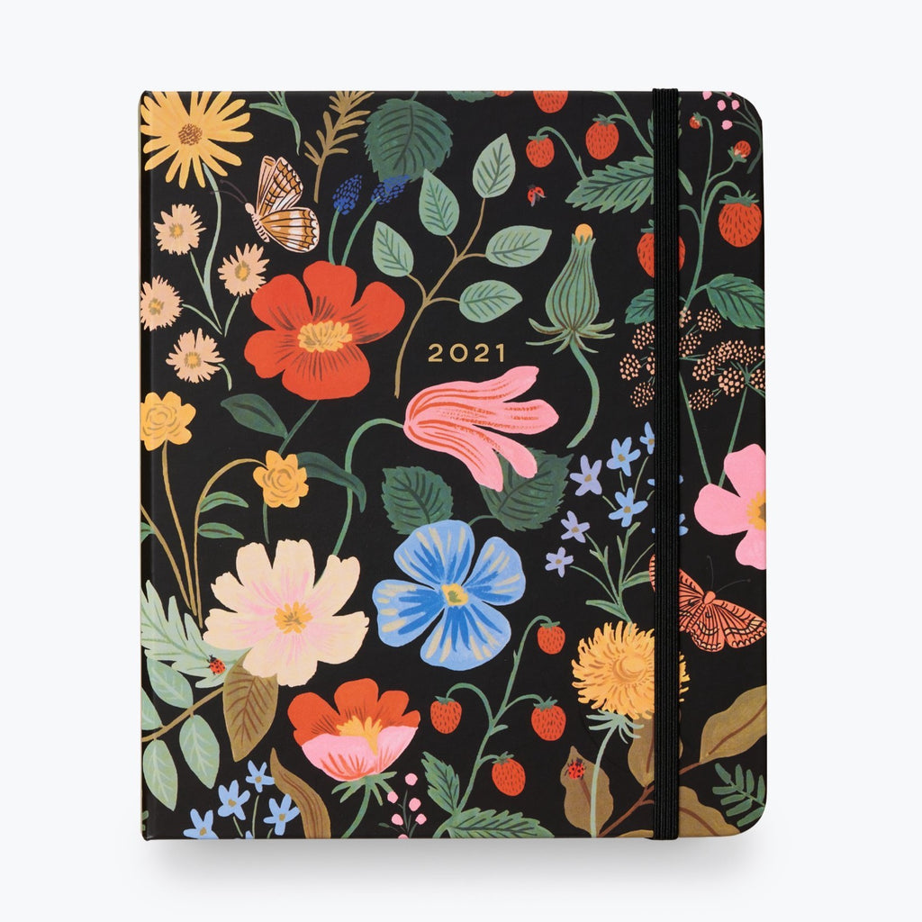 2021 Strawberry Fields Covered Planner - 17 Month
