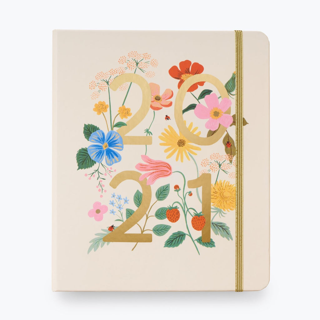2021 Wild Garden Covered Planner - 17 Month