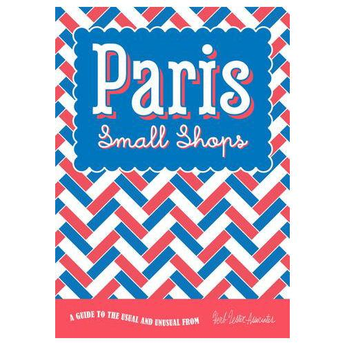 ** Travel Guide Map - Paris Small Shops
