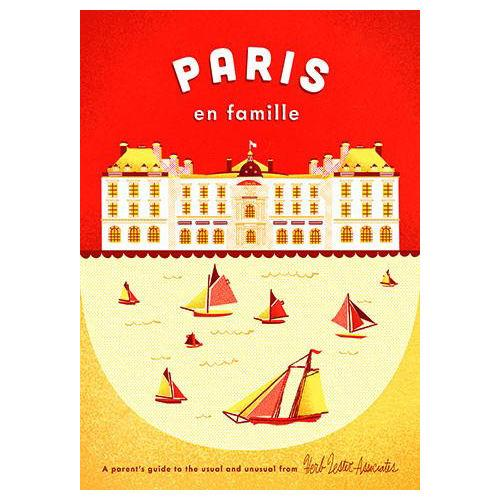 ** Travel Guide Map - Paris en Famille