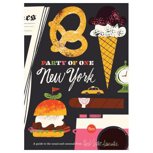 ** Travel Guide Map - Party of One: New York