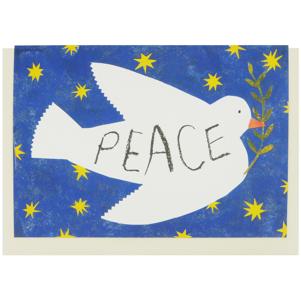 Peace Dove Christmas Card