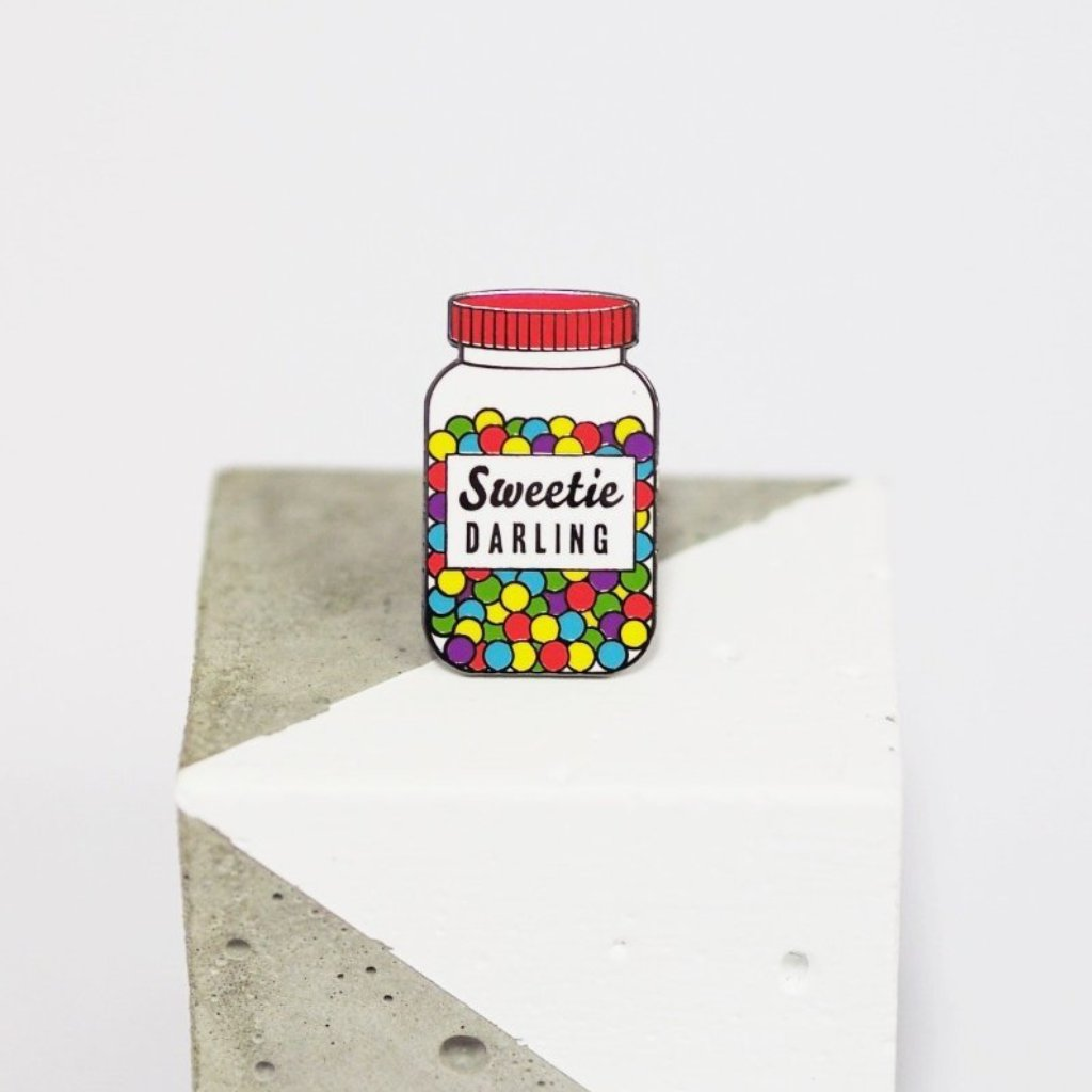 Sweetie Darling Enamel Pin Badge