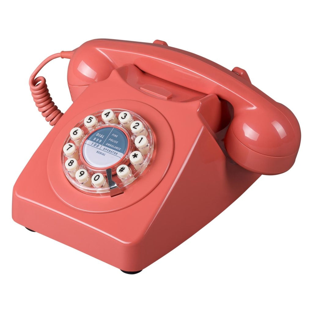 Coral Pink 746 Retro Remake Phone