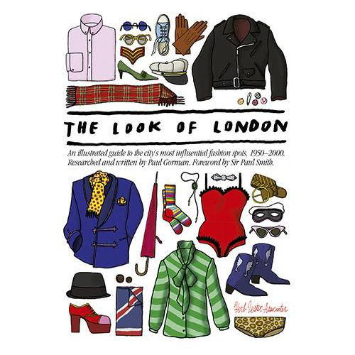 ** Travel Guide Map - The Look of London