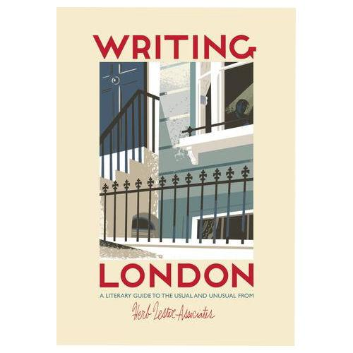 ** Travel Guide Map - Writing London