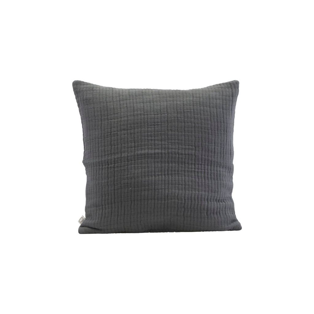 Lia Cushion Cover - Dark Grey