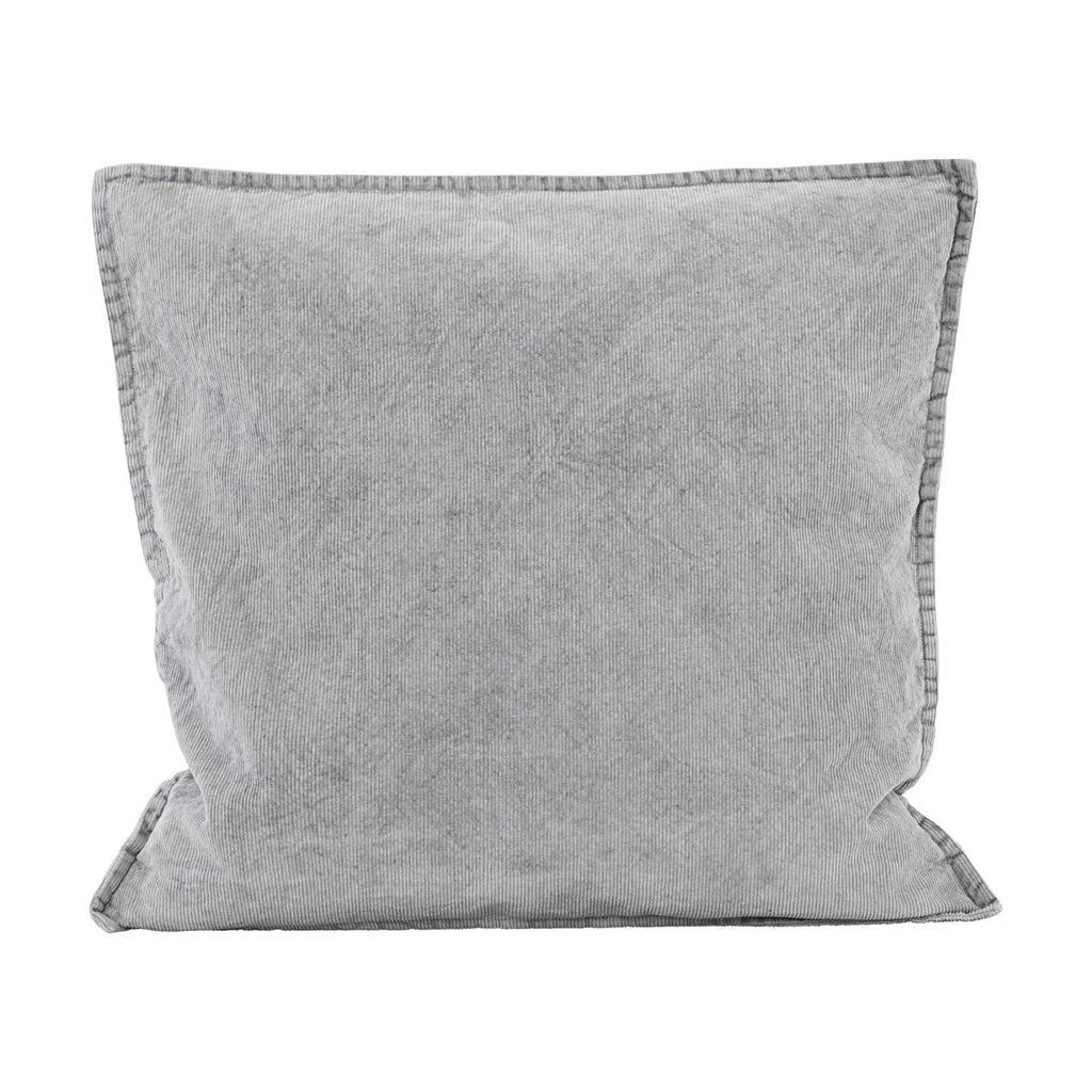Cotton Cord Cushion Cover - Light Grey