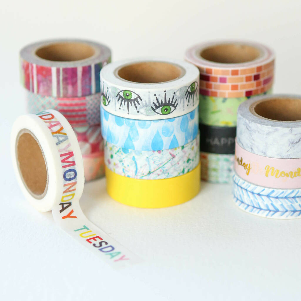 Abstract Washi Tape