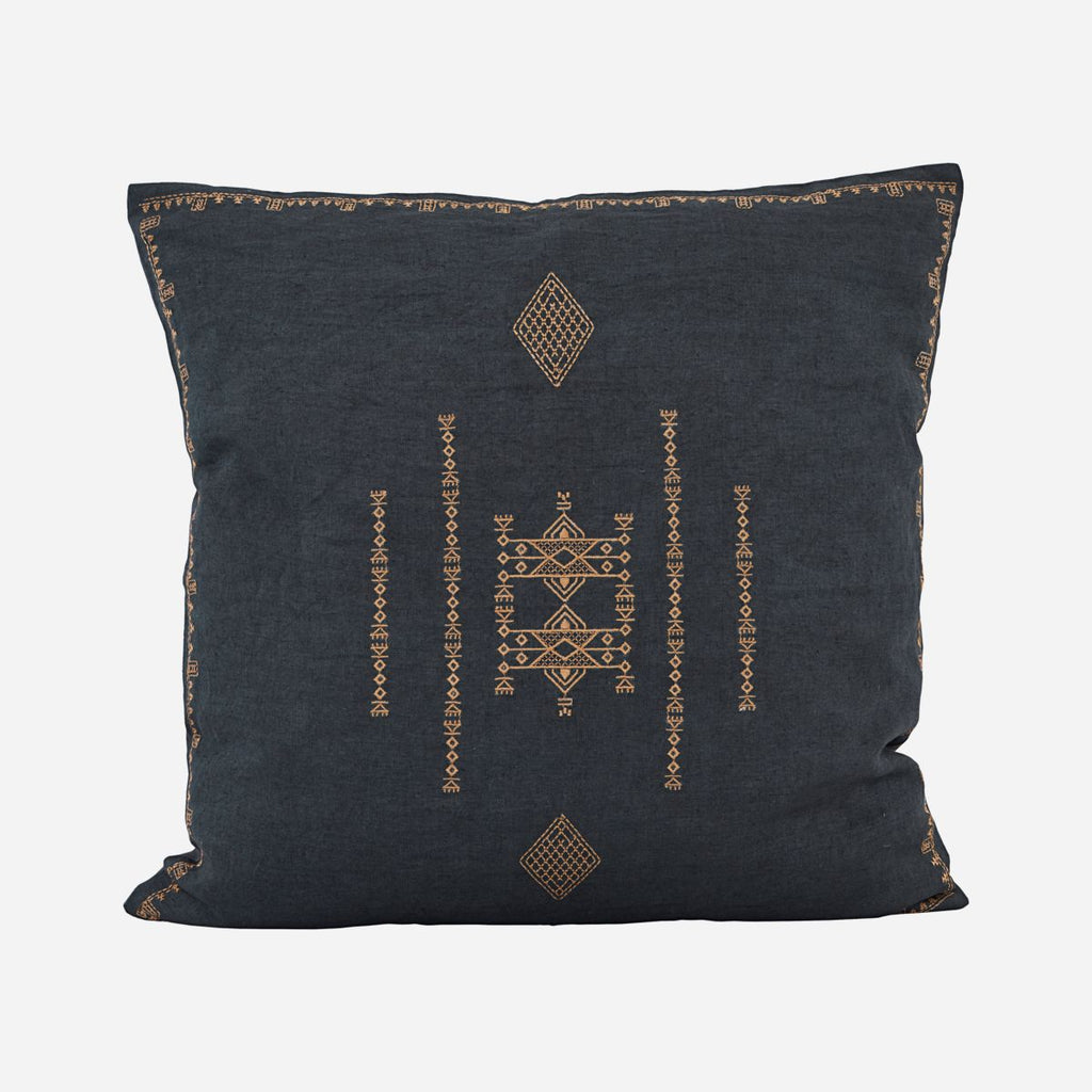 Cushion Cover - Inka Dark Grey