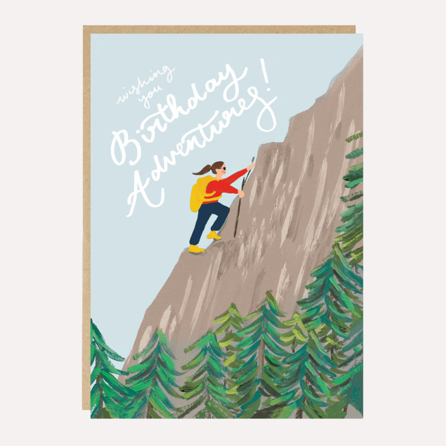 ** Birthday Adventures Card