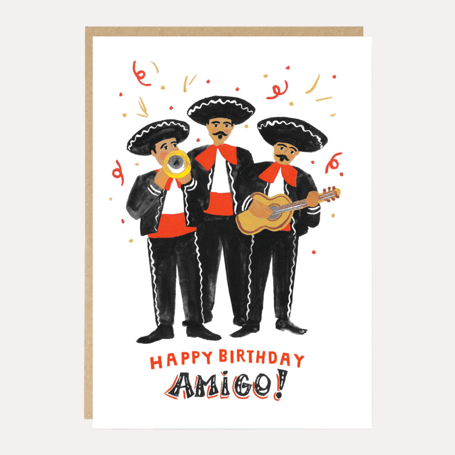 ** Happy Birthday Amigo! Birthday Card