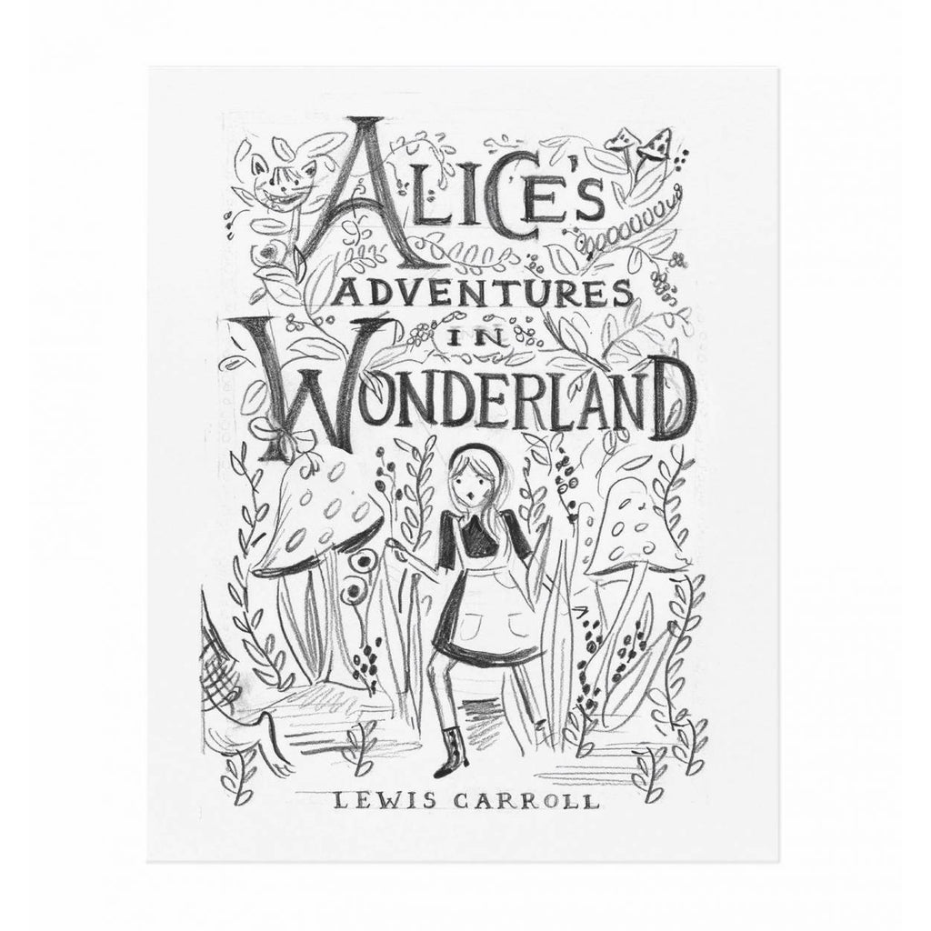 Alice Sketch Print by Rifle Paper Co