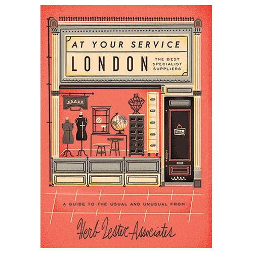 ** Travel Guide Map - At Your Service London Specialist Stores