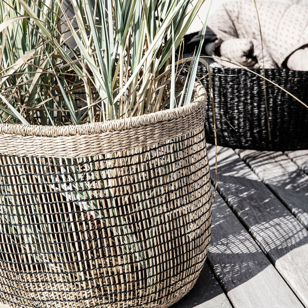 Set of 3 Very Large Seagrass Baskets