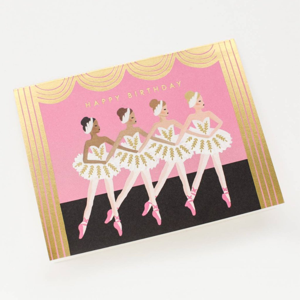 Birthday Ballet - Greetings Card by Rifle Paper Co