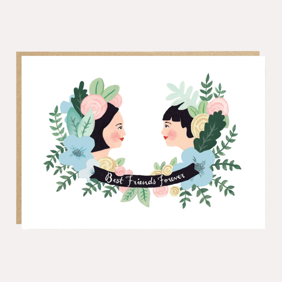 ** Best Friends Forever Wedding, Love or Friendship Card