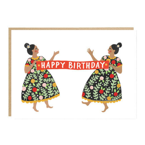 ** Birthday Banner Card