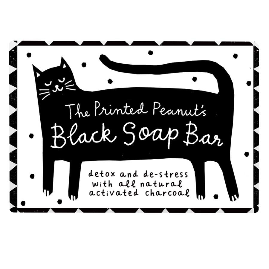 Natural Handmade Black Soap Bar