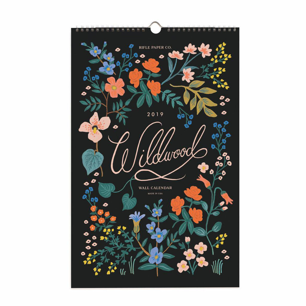 Rifle Paper Co. Wildwood Calendar 2019