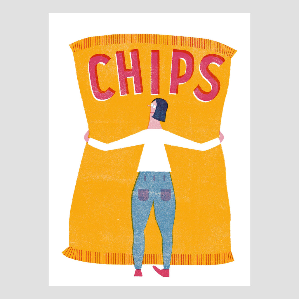A3 Chips Digital Print