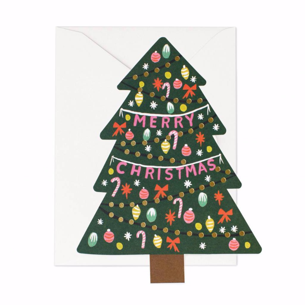 Christmas Tree - Greetings Card by Rifle Paper Co
