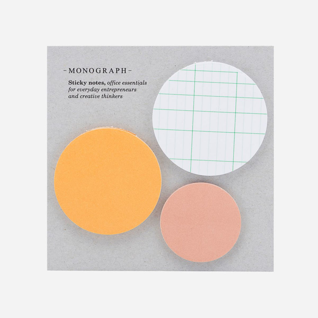 Set of 3 Circle Sticky Notes