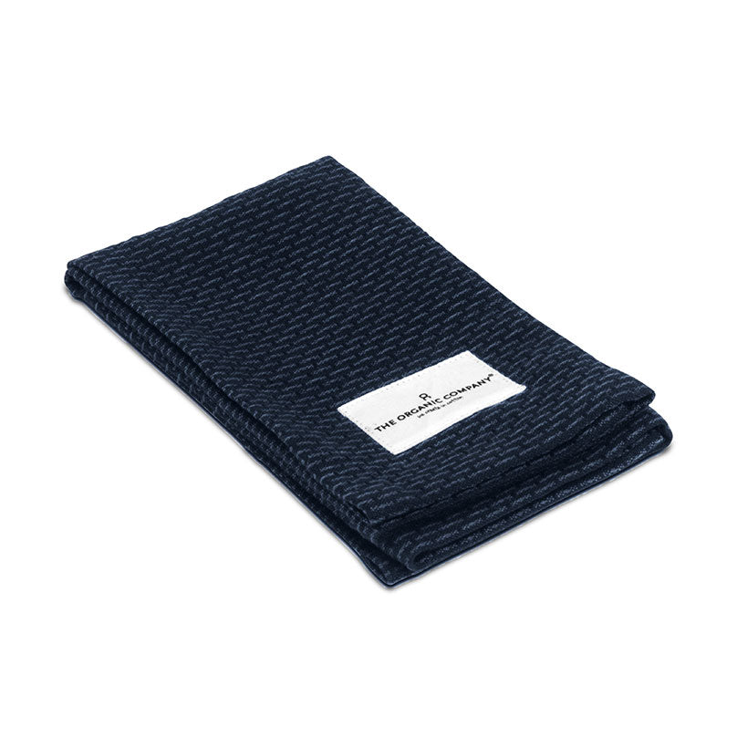 Organic Kitchen & Wash Cloth - Dark Blue
