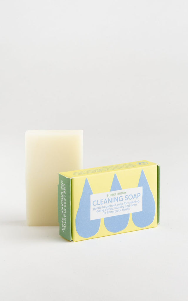 Soap Grater/Dish & Cleaning Soap Kit - Mellow Yellow