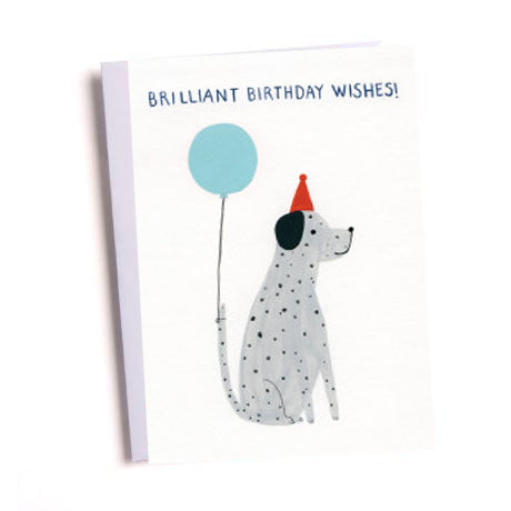 Birthday Dog Greetings Card