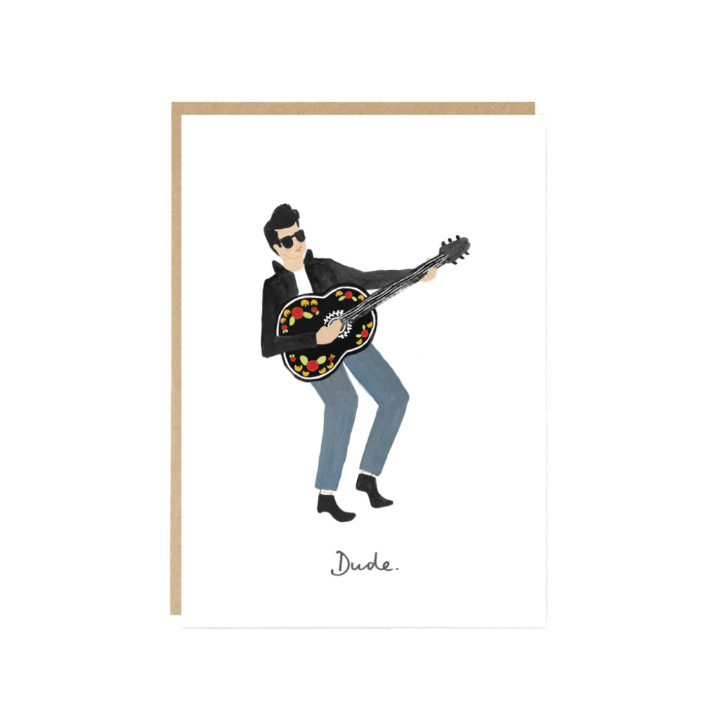 'Dude' Greetings Card