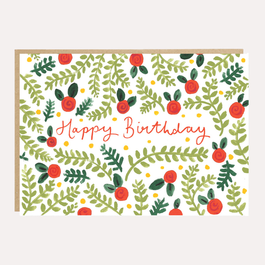 ** Fern Birthday Card