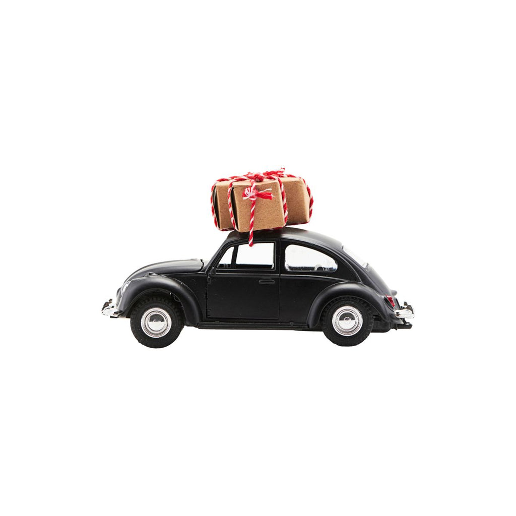 Christmas Car Ornament - Black