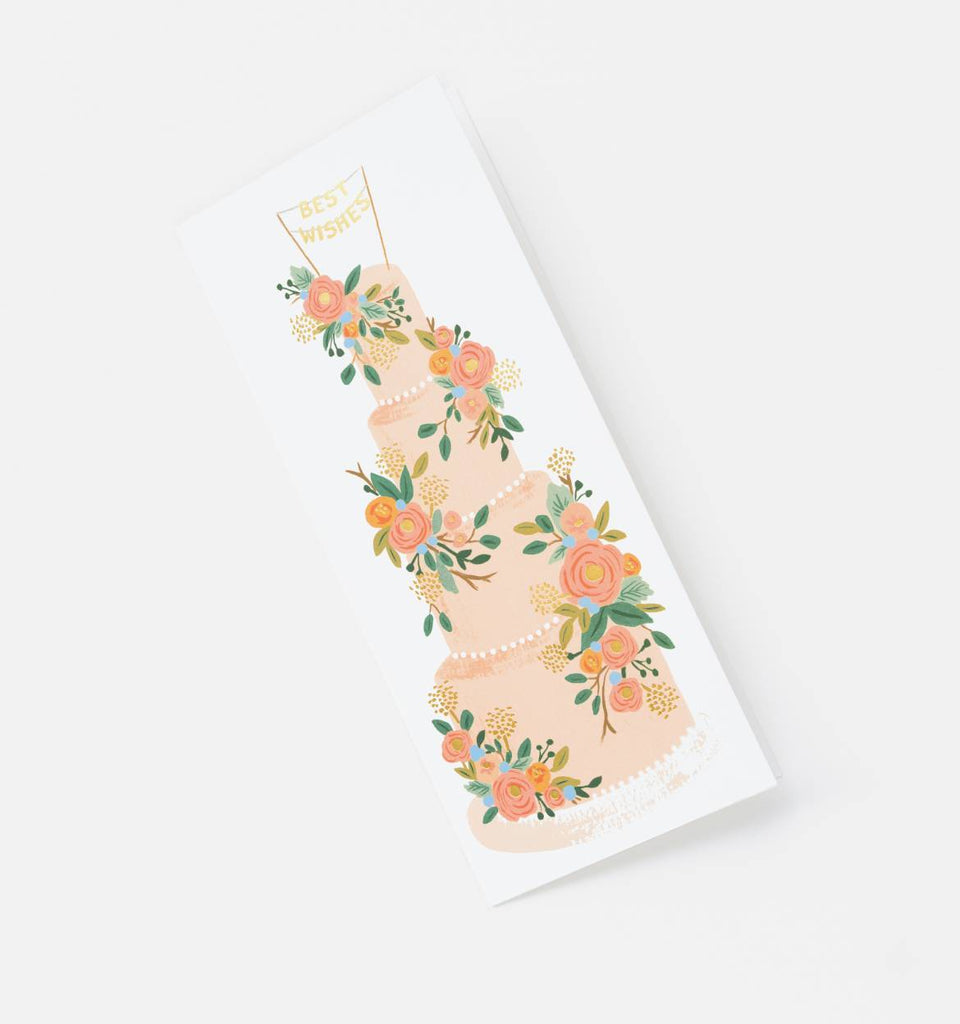 Tall Wedding Cake Card by Rifle Paper Co.