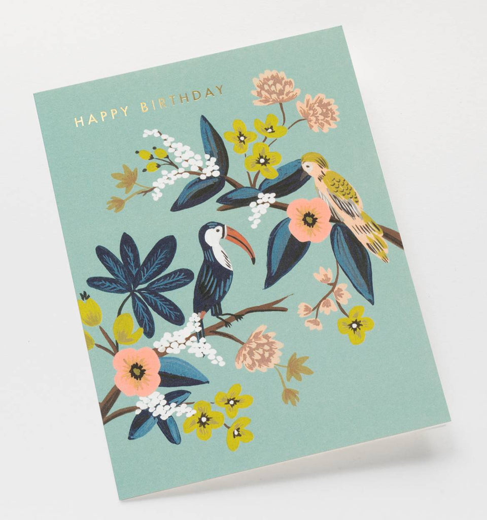 Toucan Birthday Card by Rifle Paper Co.