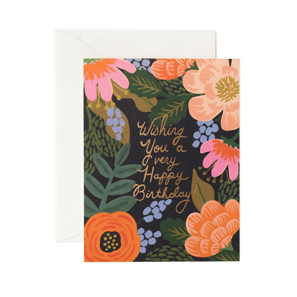 Bordeaux Birthday - Greetings Card by Rifle Paper Co