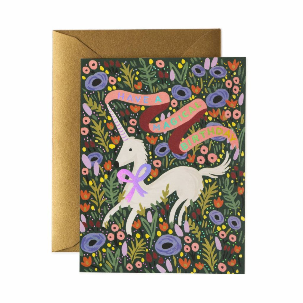 Magical Birthday - Greetings Card by Rifle Paper Co